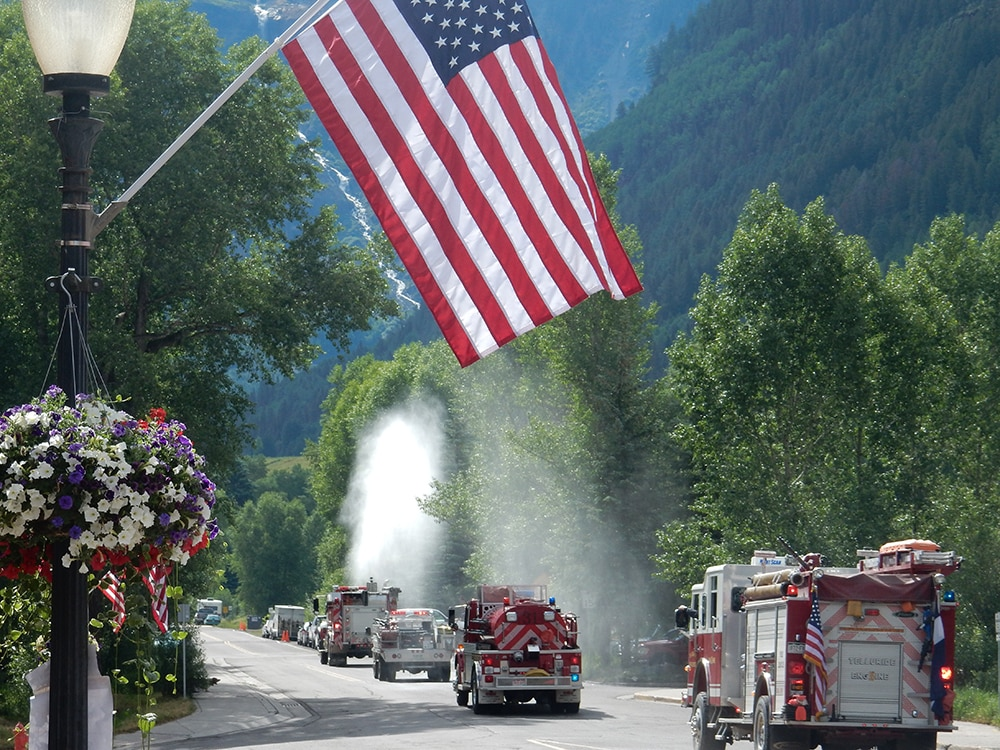 HONORABLE Bonnie Mehl - First Responders Celebrate America