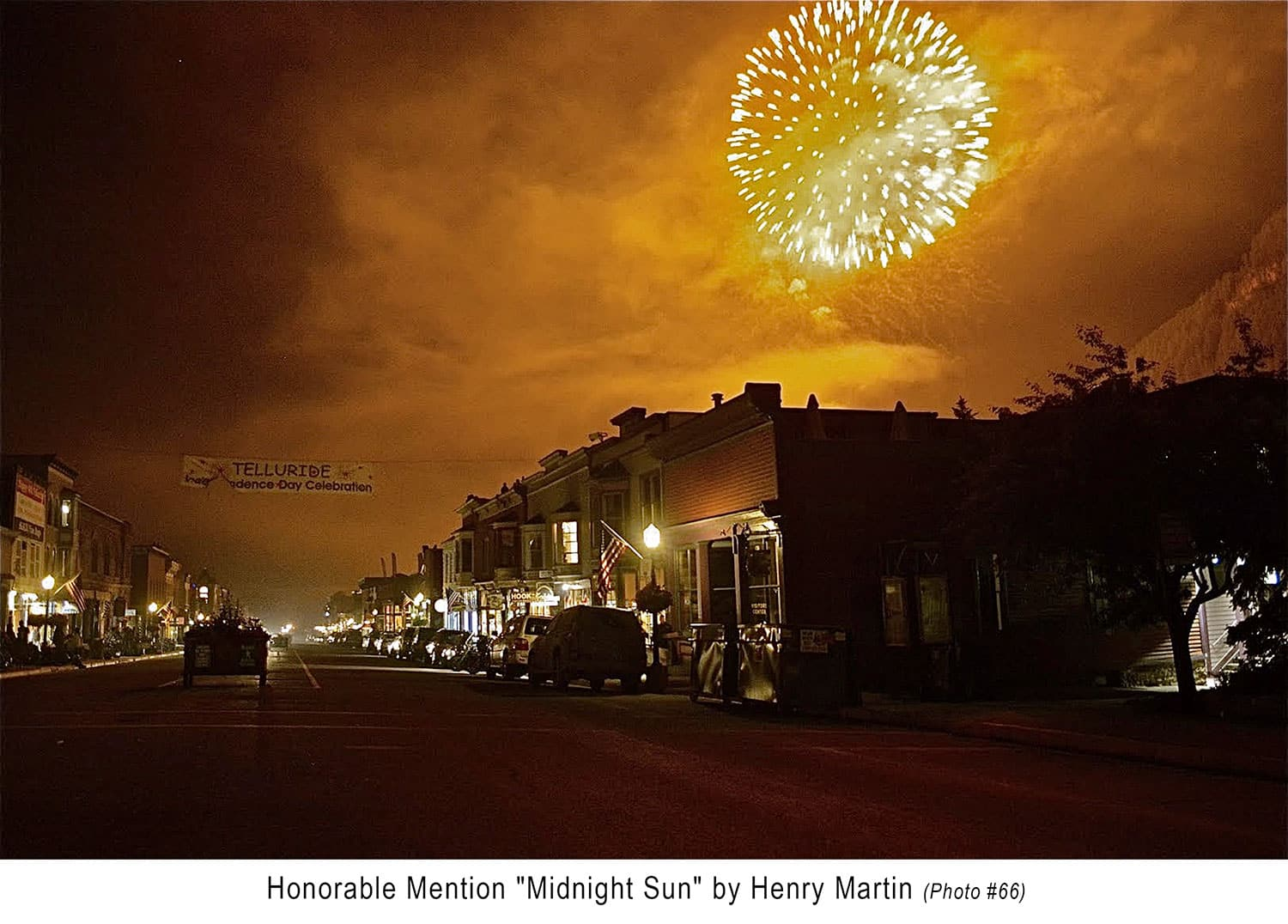Honorable Mention - Henry Martin